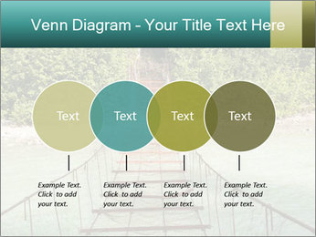 Turquois River into the Woods PowerPoint Template - Slide 32
