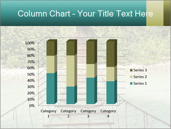 Turquois River into the Woods PowerPoint Template - Slide 50