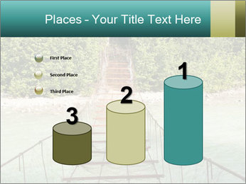 Turquois River into the Woods PowerPoint Template - Slide 65