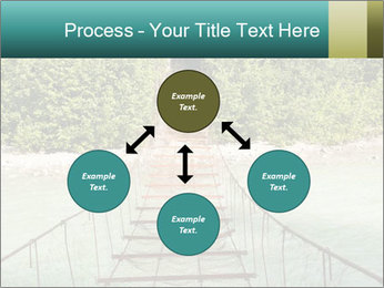 Turquois River into the Woods PowerPoint Template - Slide 91