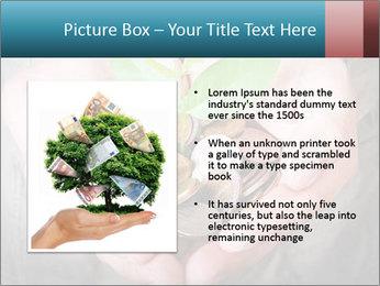 Money growing PowerPoint Template - Slide 13