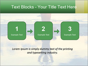 Yoga woman sitting in lotus pose PowerPoint Templates - Slide 71