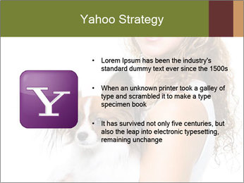 Beautiful young girl PowerPoint Templates - Slide 11