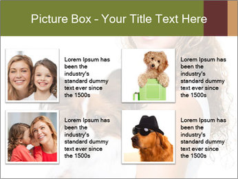 Beautiful young girl PowerPoint Templates - Slide 14