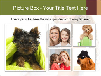 Beautiful young girl PowerPoint Templates - Slide 19