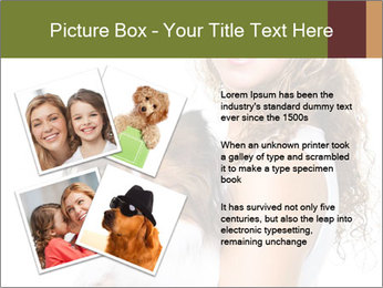 Beautiful young girl PowerPoint Templates - Slide 23