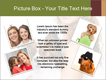 Beautiful young girl PowerPoint Templates - Slide 24