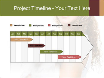 Beautiful young girl PowerPoint Template - Slide 25