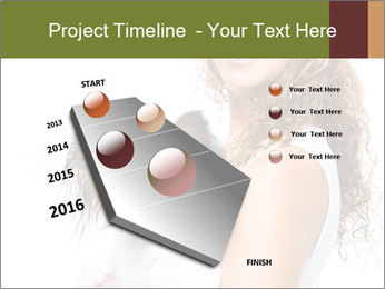 Beautiful young girl PowerPoint Template - Slide 26