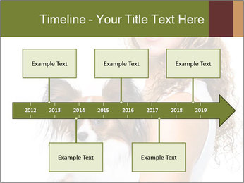 Beautiful young girl PowerPoint Templates - Slide 28