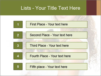 Beautiful young girl PowerPoint Templates - Slide 3