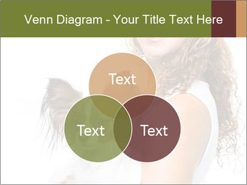 Beautiful young girl PowerPoint Template - Slide 33
