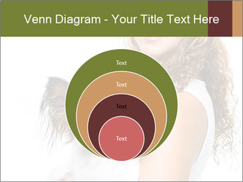 Beautiful young girl PowerPoint Templates - Slide 34