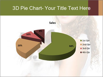 Beautiful young girl PowerPoint Template - Slide 35