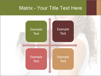 Beautiful young girl PowerPoint Templates - Slide 37