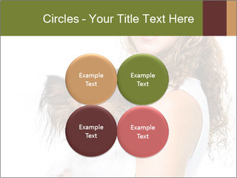 Beautiful young girl PowerPoint Templates - Slide 38