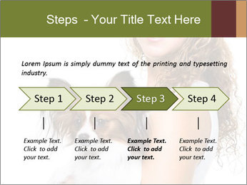 Beautiful young girl PowerPoint Templates - Slide 4