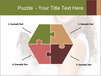 Beautiful young girl PowerPoint Templates - Slide 40
