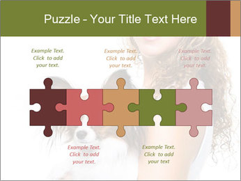 Beautiful young girl PowerPoint Templates - Slide 41