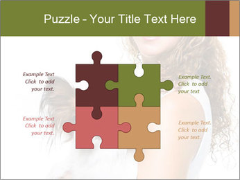 Beautiful young girl PowerPoint Templates - Slide 43