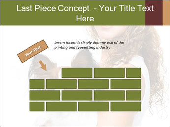 Beautiful young girl PowerPoint Templates - Slide 46