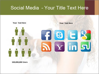 Beautiful young girl PowerPoint Templates - Slide 5