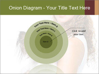 Beautiful young girl PowerPoint Templates - Slide 61