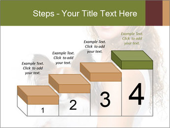 Beautiful young girl PowerPoint Templates - Slide 64