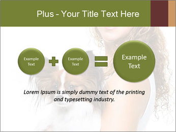 Beautiful young girl PowerPoint Templates - Slide 75