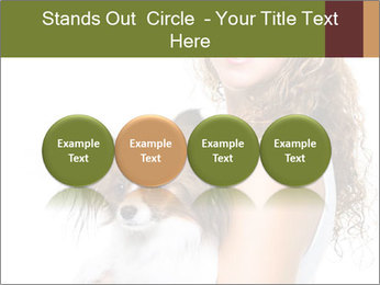 Beautiful young girl PowerPoint Templates - Slide 76