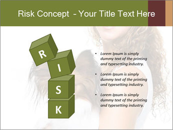Beautiful young girl PowerPoint Templates - Slide 81