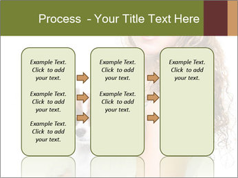Beautiful young girl PowerPoint Templates - Slide 86