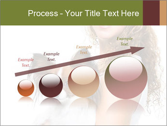 Beautiful young girl PowerPoint Templates - Slide 87