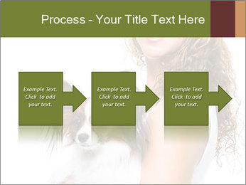 Beautiful young girl PowerPoint Templates - Slide 88