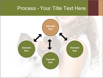 Beautiful young girl PowerPoint Template - Slide 91
