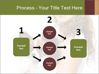 Beautiful young girl PowerPoint Template - Slide 92