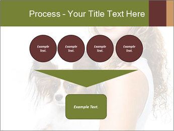 Beautiful young girl PowerPoint Template - Slide 93