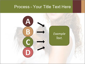 Beautiful young girl PowerPoint Templates - Slide 94