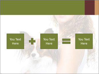 Beautiful young girl PowerPoint Templates - Slide 95