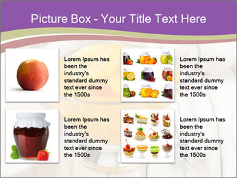 Canned preserve peaches PowerPoint Templates - Slide 14