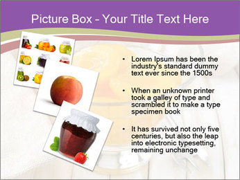 Canned preserve peaches PowerPoint Templates - Slide 17