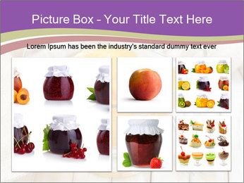 Canned preserve peaches PowerPoint Templates - Slide 19