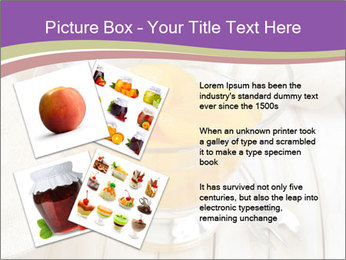 Canned preserve peaches PowerPoint Templates - Slide 23