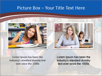 Female student PowerPoint Template - Slide 18