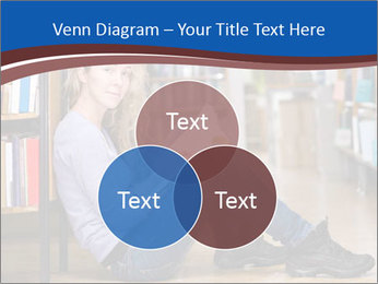 Female student PowerPoint Template - Slide 33