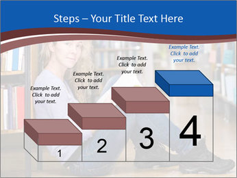 Female student PowerPoint Template - Slide 64