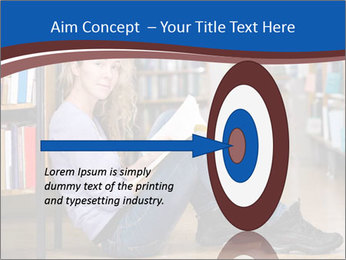 Female student PowerPoint Template - Slide 83