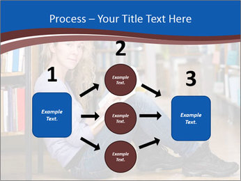 Female student PowerPoint Template - Slide 92