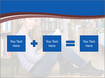 Female student PowerPoint Template - Slide 95