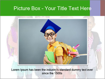 Elementary School Kids PowerPoint Templates - Slide 16